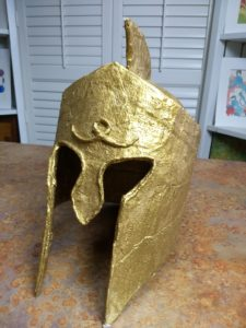 Warrior helmet from Ancient Greece Take Time for Art